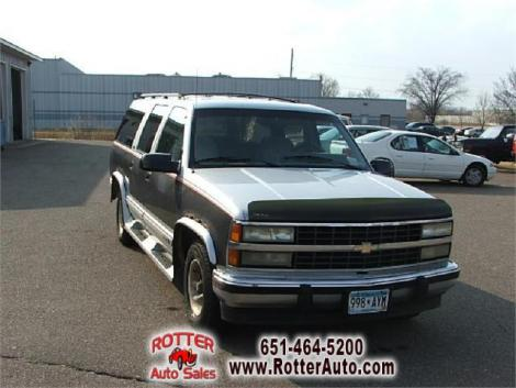used 1992 chevrolet suburban 1500 suv for sale in mn. Black Bedroom Furniture Sets. Home Design Ideas