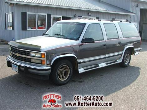 Used 1992 Chevrolet Suburban 1500 Suv For Sale In Mn