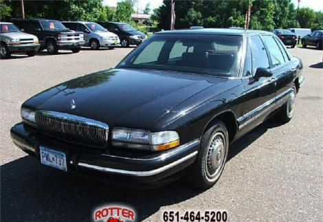 1996 buick park avenue sedan for sale in forest lake mn. Black Bedroom Furniture Sets. Home Design Ideas