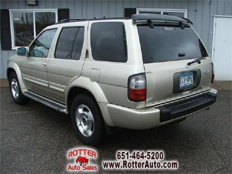 used 1999 infiniti qx4 suv under 5000 in mn. Black Bedroom Furniture Sets. Home Design Ideas