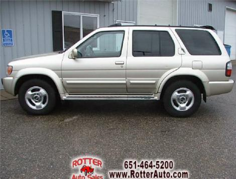 1999 Infiniti QX4 SUV For Sale in Forest Lake MN Under $5000 - Autopten.com