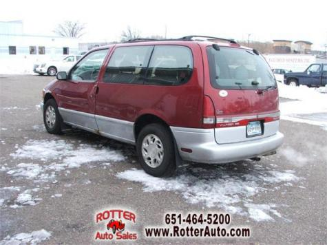 used 1997 mercury villager gs passenger minivan for sale in mn. Black Bedroom Furniture Sets. Home Design Ideas
