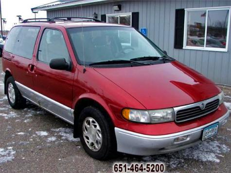 used 1997 mercury villager gs passenger minivan for sale. Black Bedroom Furniture Sets. Home Design Ideas