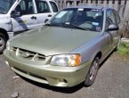 2002 Hyundai Accent (Gold)