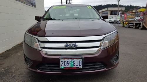 2011 Ford Fusion Sedan For Sale In Portland Or Under 9000