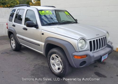2003 Jeep Liberty Sport For Sale Portland Or Under 6000