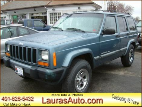 1999 jeep cherokee suv for sale in coventry ri under 4000. Black Bedroom Furniture Sets. Home Design Ideas