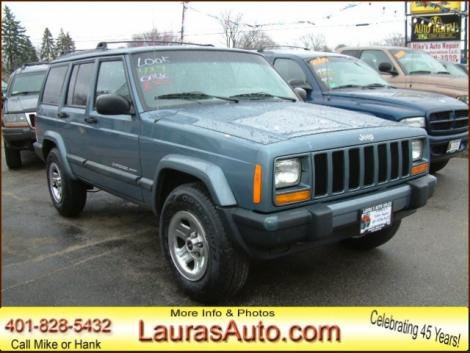 used Blue 1999 Jeep Cherokee SUV