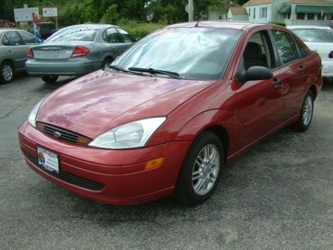 Used Cars For Sale Under 5000 >> 2000 Ford Focus Sedan For Sale in Coventry RI Under $4000 ...