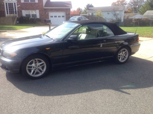 bmw 325 convertible by owner in md under 5000. Black Bedroom Furniture Sets. Home Design Ideas
