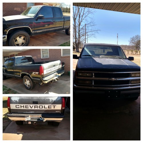 1995 Chevrolet 1500 Truck For Sale By Owner In SC Under