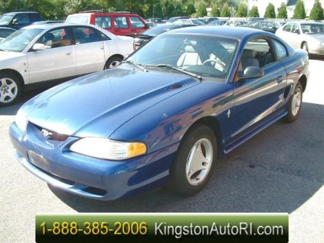 1996 ford mustang coupe for sale under 4000 in peacedale ri. Black Bedroom Furniture Sets. Home Design Ideas