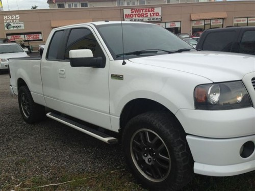 2008 ford f 150 xlt truck in baytown tx under 8000 white. Black Bedroom Furniture Sets. Home Design Ideas
