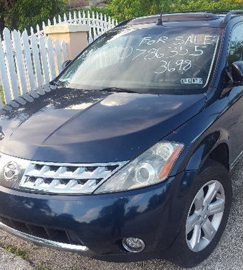 Nissan Murano '06 By Owner For $5K Or Less In Miami FL