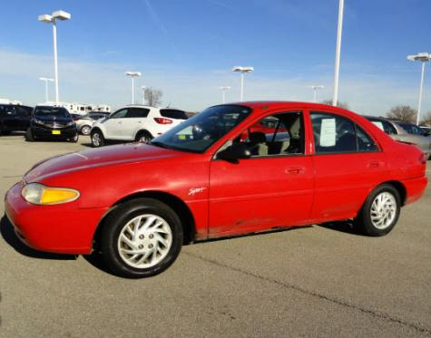 Car Under 500 Cheap Ford Escort 98 Sedan For Sale In
