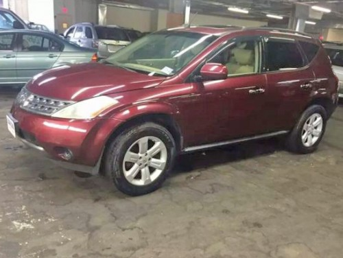 2006 nissan murano awd suv under 6000 in new york ny. Black Bedroom Furniture Sets. Home Design Ideas