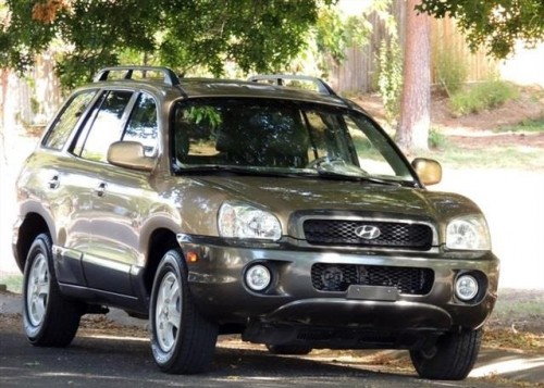 2004 hyundai santa fe suv for sale by owner in tx under 4000. Black Bedroom Furniture Sets. Home Design Ideas