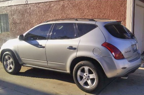 2005 nissan murano by owner in california for 5k or less. Black Bedroom Furniture Sets. Home Design Ideas