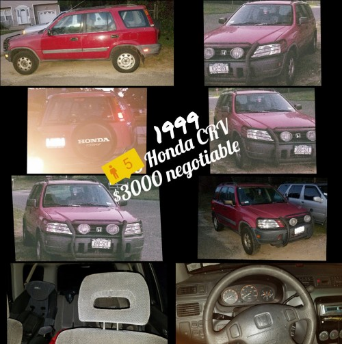 '99 Honda CR-V SUV By Owner Bay Shore NY $2000 Or Less