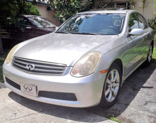 2005 Infiniti G35 By Owner Under 5000 In South Fl Silver