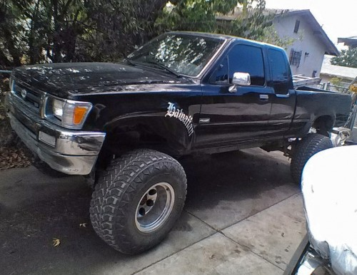 Toyota Trucks For Sale Near Me >> Toyota MR2 '92 Lifted Pickup Truck Banning CA Under $6K By ...