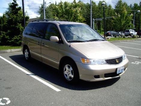 photo 11 passenger minivan 2001 honda odyssey tan. Black Bedroom Furniture Sets. Home Design Ideas