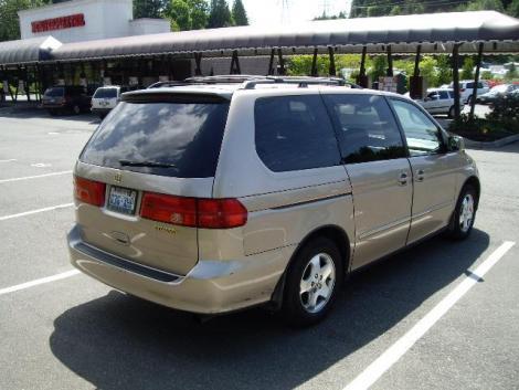 photo 9 passenger minivan 2001 honda odyssey tan. Black Bedroom Furniture Sets. Home Design Ideas