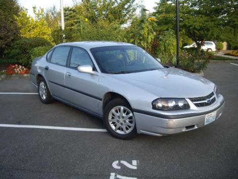 Used 2002 Chevrolet Impala Sedan For Sale In Wa Autopten Com