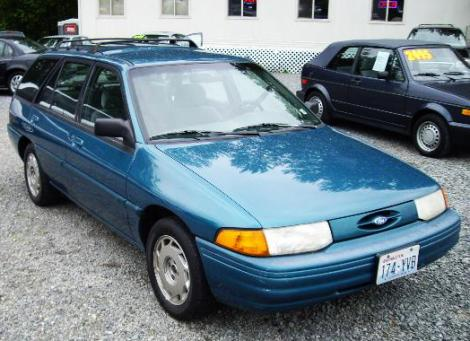 Used 1995 Ford Escort Lx Wagon Station Wagon For Sale In