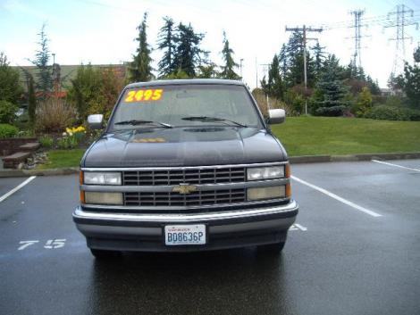 Used 1991 Chevrolet 1500 Extended Cab Truck For Sale in WA ...