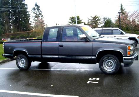 Used 1991 Chevrolet 1500 Extended Cab Truck For Sale In Wa