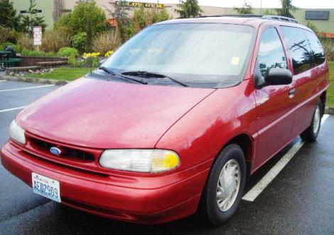 Copart Home Page >> Used 1995 Ford Windstar GL Passenger Minivan For Sale in ...
