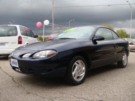 2001 ford escort zx2 for sale in janesville wi under 5000. Black Bedroom Furniture Sets. Home Design Ideas