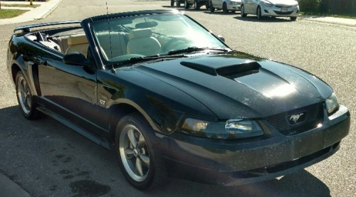 2001 ford mustang convertible for sale by owner in id under 4000. Black Bedroom Furniture Sets. Home Design Ideas
