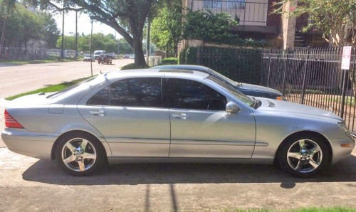 39 05 mercedes benz s430 by owner houston tx under 5000