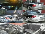 2001 Ford Mustang under $3000 in CA