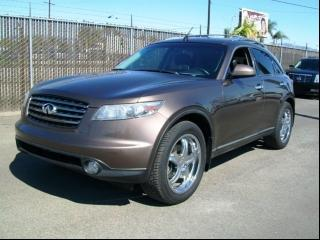 Acura Van Nuys >> 2005 Infiniti FX35 Luxury Suv For Sale in Van Nuys CA ...