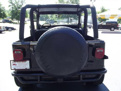 Photo #3: crossover: 1993 Jeep Wrangler (Black)