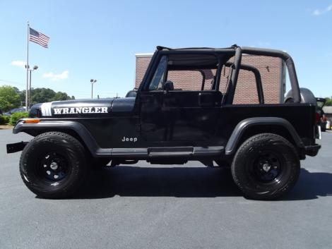 Photo #5: crossover: 1993 Jeep Wrangler (Black)