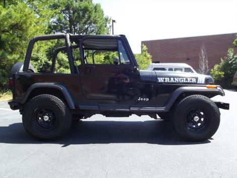 Photo #1: crossover: 1993 Jeep Wrangler (Black)