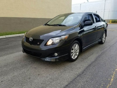 2010 Toyota Corolla S For Sale in Hollywood FL Under $8000 ...