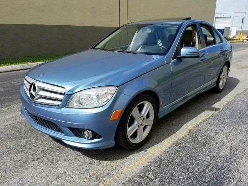 2010 mercedes benz c class 300 for sale in hollywood fl for Mercedes benz plant salary