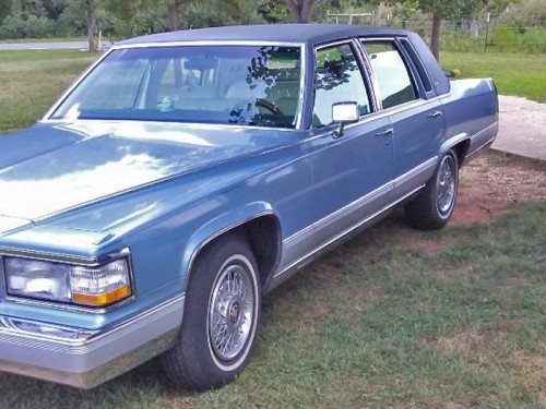 91 Cadillac Brougham D Elegance By Owner In Nc Classic