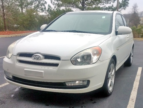 2006 hyundai accent coupe for sale by owner in nc under. Black Bedroom Furniture Sets. Home Design Ideas