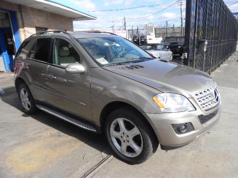 2008 Mercedes Benz Ml Class Ml350 For Sale In Paterson Nj