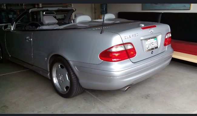 2002 mercedes benz clk convertible for sale by owner in ca under 4000. Black Bedroom Furniture Sets. Home Design Ideas