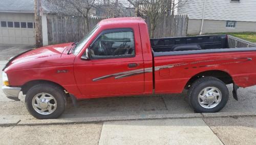 2000 ford ranger pickup truck for sale by owner in pa under 3000. Black Bedroom Furniture Sets. Home Design Ideas