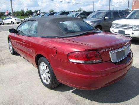 Photo #2: convertible: 2006 Chrysler Sebring (Inferno Red)