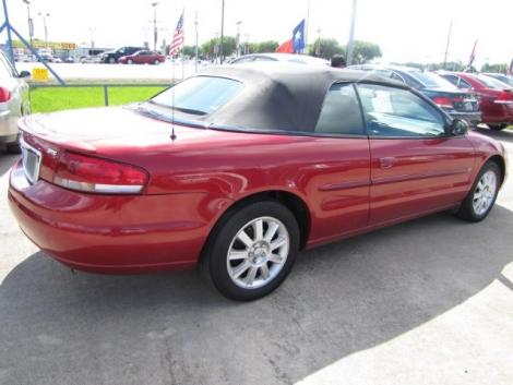Photo #4: convertible: 2006 Chrysler Sebring (Inferno Red)