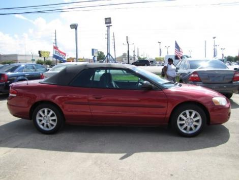 Photo #5: convertible: 2006 Chrysler Sebring (Inferno Red)